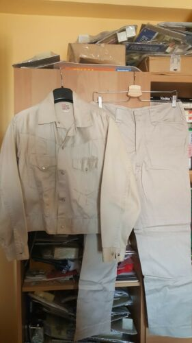 LEVIS SHORTHORN BIG E 1950'S TRUE VINTAGE TAN JACK