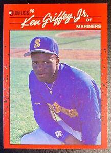 1990 Donruss #365 KEN GRIFFEY JR. Rookie Card Seattle Mariners HOF