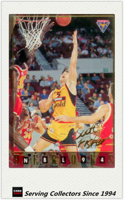 1994 Australia Basketball Card NBL Series 2 National Heroes NH12:Scott Fisher