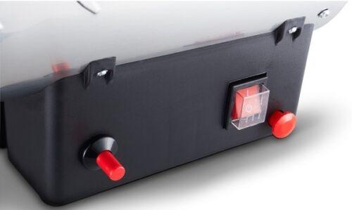 Rowi Gas-Heizgebläse 15 kW Inox Basic Gasheizstrahler Heizlüfter Heizventilator