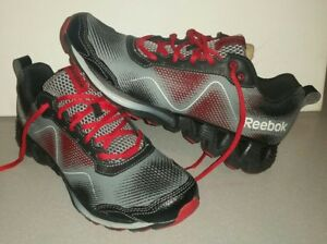 d7c0c57675d BRAND NEW REEBOK CROSSFIT ZIG KICK WILD RED BLACK GREY MENS US 8 ...