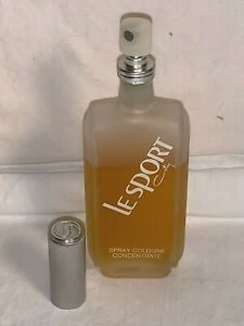 Vintage-LE-SPORT-by-COTY-Spray-COLOGNE-Concentrate-2-25oz-80-FULL