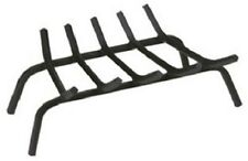 """23"""" Black Wrought Iron Fireplace Grate - New"""