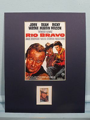 "Considerate "" Rio Bravo"" Starring John Wayne & Dean Martin Honored By The John Wayne Stamp Fashionable Style; In"
