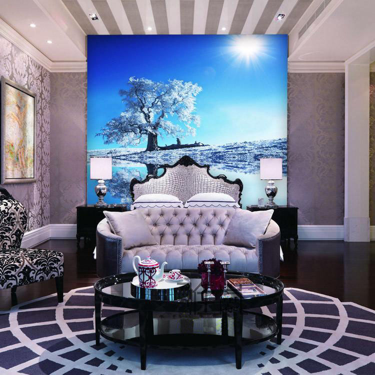 3D Daylight Weiß Tree WallPaper Murals Wall Print Decal Wall Deco AJ WALLPAPER