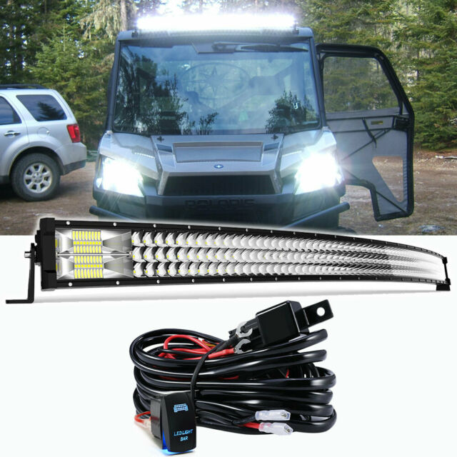 Curved 648w 50 Inch Light Bar Work Square Lamps For