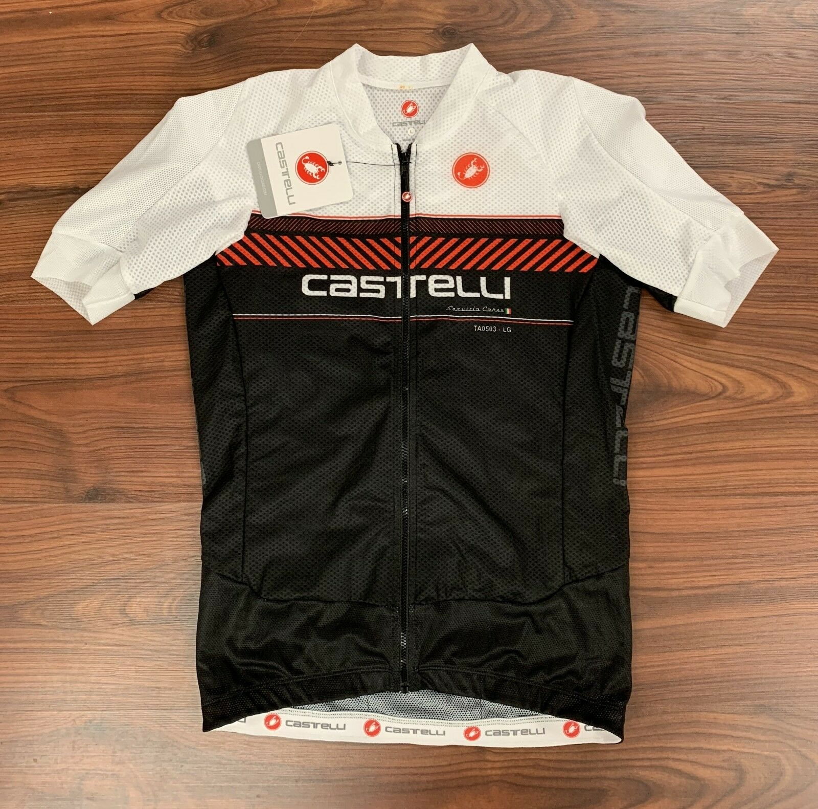 New Castelli Aero Race 5.1 Men's Large Jersey