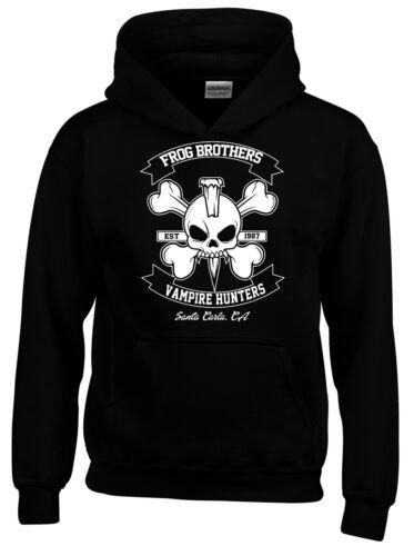 Frog Brothers Vampire Hunter Lost Boys Cult 80s Mens Hoodie