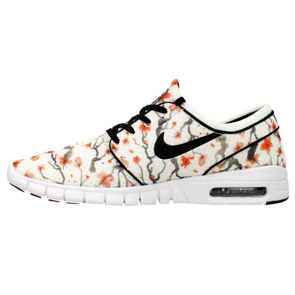 Nike STEFAN JANOSKI MAX PRM Sail Black White Discounted (602) Men's Shoes