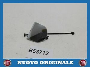 Cover Towbar Rear Bumper Chrome Tow Cover For FIAT 500