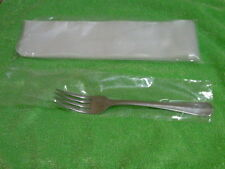 500 Cnt Plastic Silverware Tubes Bags Help Prevent Scratching Sterling Stainless