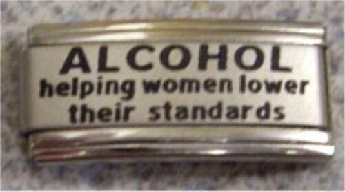 Italian Charms L32 Alcohol helping women lower standard