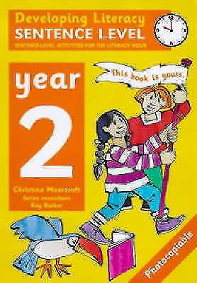 Developing Literacy: Sentence Level Activities Year 2 Sentence-Level Activities