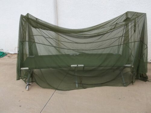 ARMY MOSQUITO NET BAR U.S barrier NSN: 7210-00-266-9736 COT COVER NETTING
