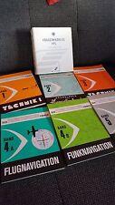 Set Der Privatflugzeugführer Band 1 2 3 4a 4b 4 5 + Fragenkatalog Lehrbuch Pilot