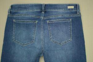 Sneak-Peek-Ankle-Skinny-Jeans-Junior-039-s-Size-11-Frayed-Step-Hem-Distressed-Denim