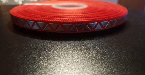 3689 Silber Metallic 9mm Breite Ripsband Borte Webband