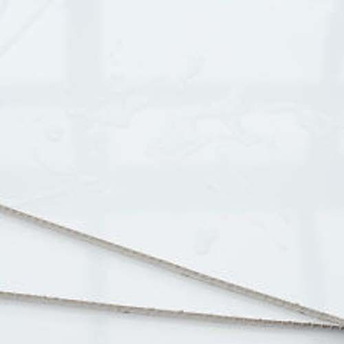 1M X WHITE GLOSS  SHOWER WALL PANELS KITS 2X1M X 2400X 10MM THICK
