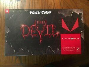 Powercolor Red Devil Radeon Rx Vega 64 8gb Hbm2 Graphics Card 4713436170372 Ebay