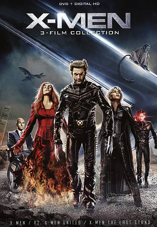 X-Men 3 Film Collection X-Men X-Men United X-Men The Last Stand 2010 DVD  - $19.01