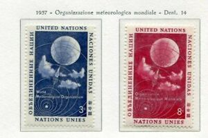 19020) United Nations (New York) 1957 MNH New Metereology