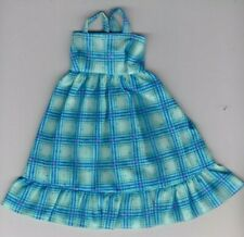 Doll Clothes-Pastel Print Sundress fit Barby Doll-Homemade SD3