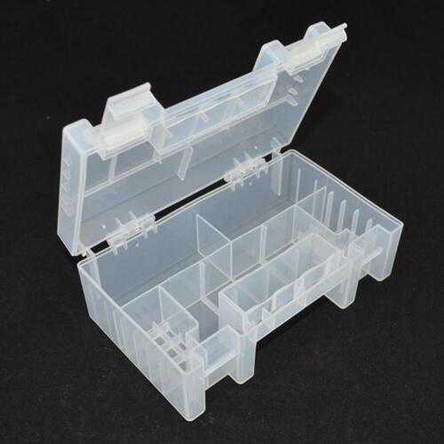 Portable Hard Plastic AA AAA C Battery Healthy Case Organiser Storage Box H Q6L3