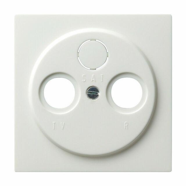 Gira 086940 Cache Prise Antenne S-COULEUR Blanc Pur D'Antenne