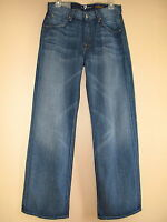 $178 Seven 7 For All Mankind Relaxed Straight Leg Xsoft Cotton Men's Jeans 30-31