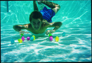 6 Turtle Eggs Diving Game Underwater Surprise Pool Learn To Swim Swimline 9177 Ebay