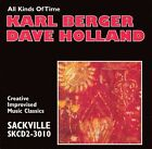 All Kinds of Time by Dave Holland (Bass)/Karl Berger (Vibraphone) (CD, Sep-2001, Sackville Recordings)