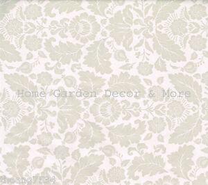Grey Taupe Floral Flower Leaf Vinyl Contact Paper Shelf Drawer Liner Peel Stick 87508159997 Ebay