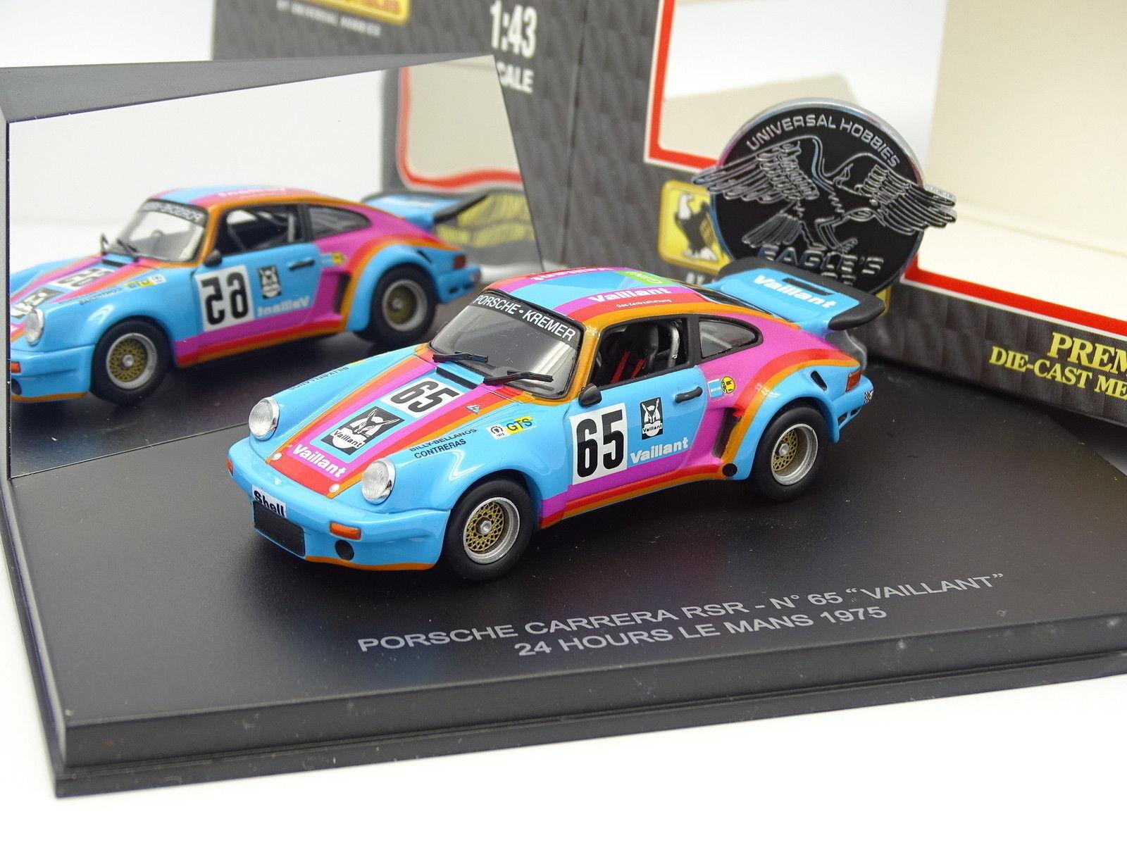 UH 1 43 43 43 - Porsche 911 CARRERA rsr Nr.65 Vaillant le mans 1975  | Deutschland  67e471