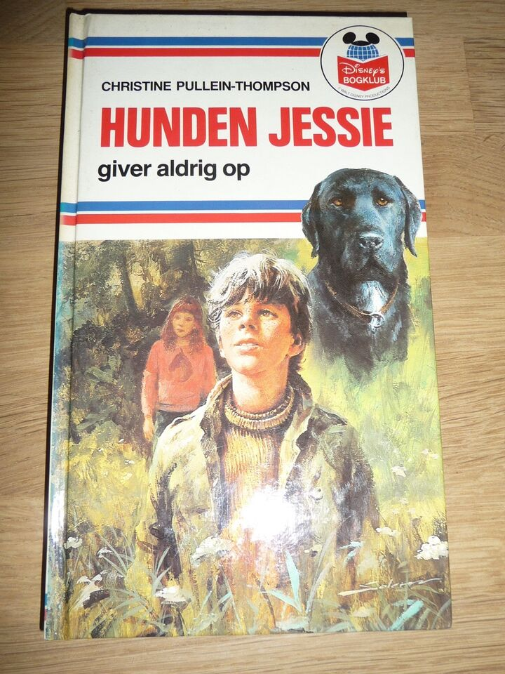 Hunden Jessie giver aldrig op, Christine Pullein