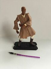 2001 Hasbro Star Wars Saga Mace Windu (Geonosian Rescue) Loose