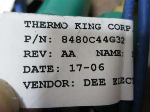 Thermo King 8480C44G32 High Pressure Cut Out Switch 20PS260-16 235R16 1088A99G56