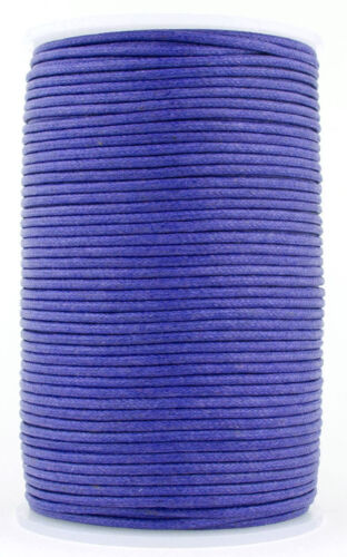 Xsotica-Waxed Round Cotton Cord 1.0 mm