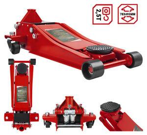 Rangierwagenheber 2.5t Hydraulischer Wagenheber Autoheber Rangierheber Werkstatt