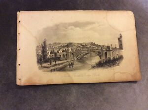 Antique-Book-Print-North-Parade-Bridge-Bath-c-1850