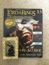 The Lord of the Rings Collector's Model No 13 Orc Soldier