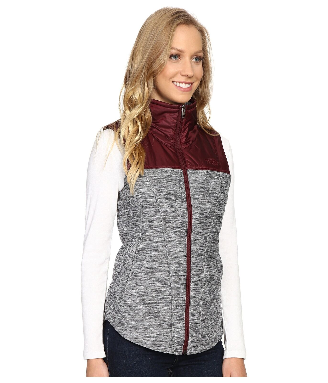 The North North North Face Women's Pseudio Mixed Vest X-Large ba8aa5