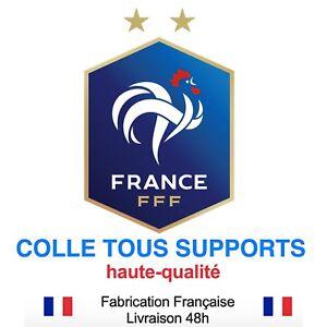 plusieurs tailles Stickers autocollant FRANCE FFF foot football super prix