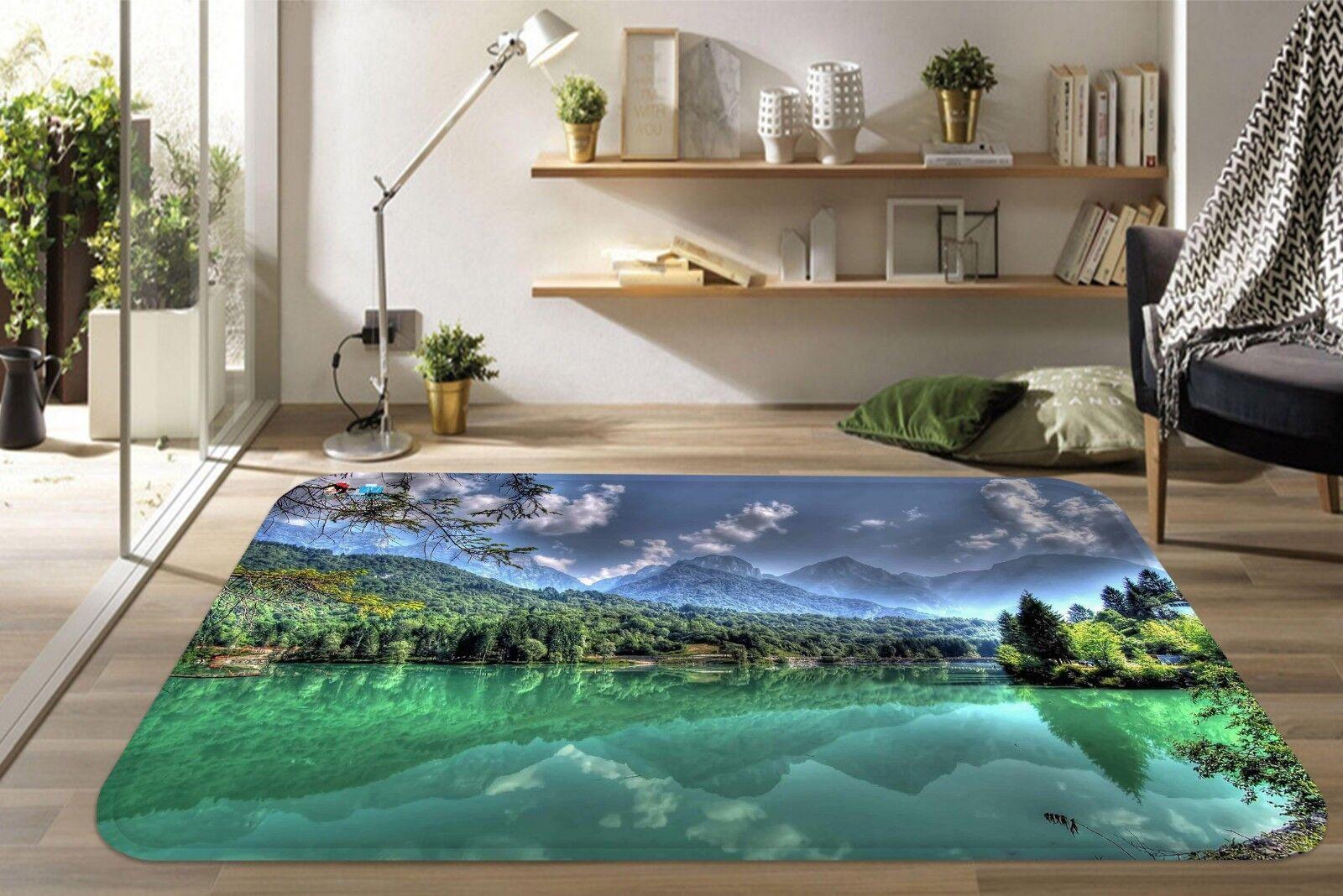 3D Foresta 026 tappetino antiscivolo tappeto camera Tappetino Qualità Elegante foto Tappeto UK Estate