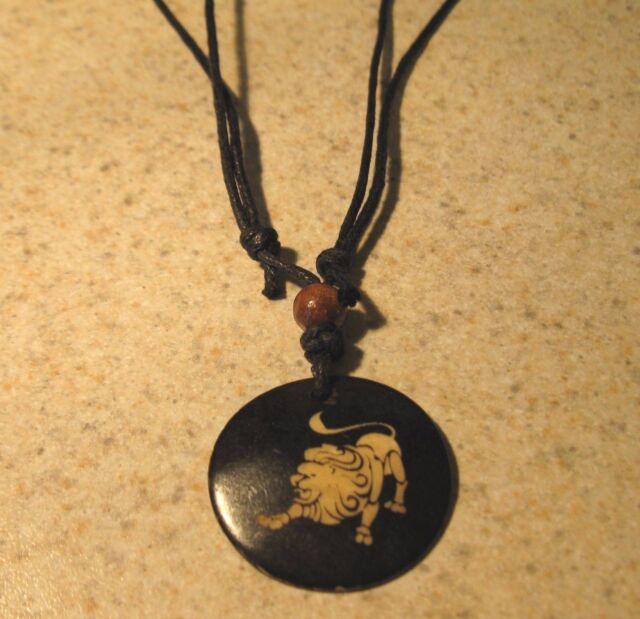 Zodiac Necklace Leo The Lion Men Women Unisex NEW #412
