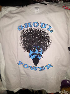 THE GHOUL GHOUL POWER GREY T-shirt LG new