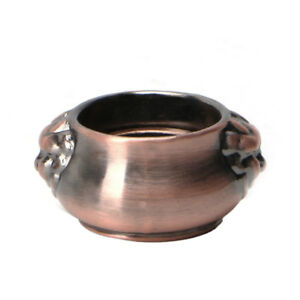 Vintage-Copper-Incense-Coil-Burner-Censer-Aromatherapy-Pot-Mini-Lion-Ear-Pots
