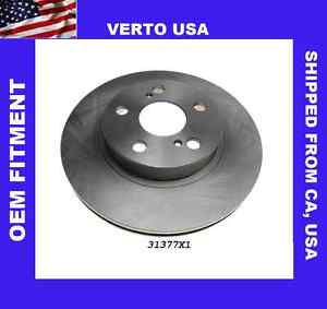 Front Brake Rotors+Rear Drums For Toyota Prius 2004-2005-2006-2007-2008-2009