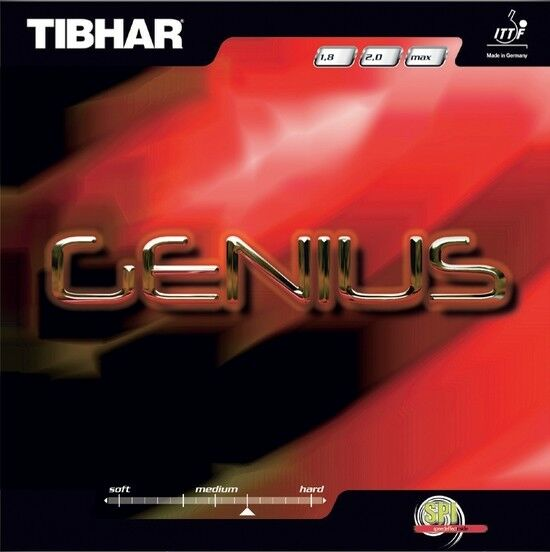 Tibhar Genius max schwarz NEU NEU NEU   OVP ad5758