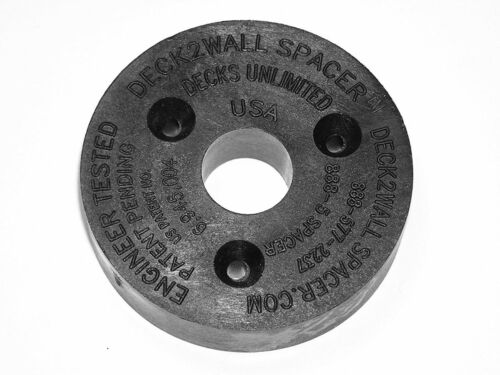Deck2 Wall Spacer Pack of 10 Screw Products D2W38-10PK 2 in