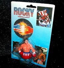 ROCKY BALBOA FIGURINE STAMPER SLYVESTER STALLONE BOXING FIGURE Winston Toys (#2)